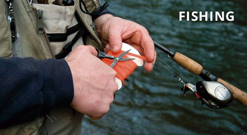 Folding Scissors for Fishing